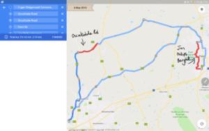 Jan Phillips Bergpas Route Map