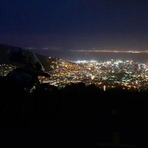 Table Mountain - City lights