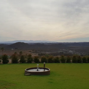 Warmwaterberg Spa - view from restaurant